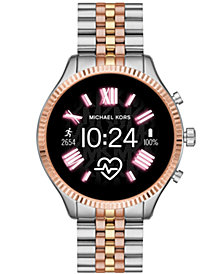 Michael Kors Access Gen 5 Lexington Stainless Steel Bracelet Touchscreen Smart Watch 44mm, Powered by Wear OS by Google™