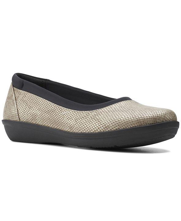 Clarks Cloudsteppers Women's Ayla Low Ballet Flat Shoes