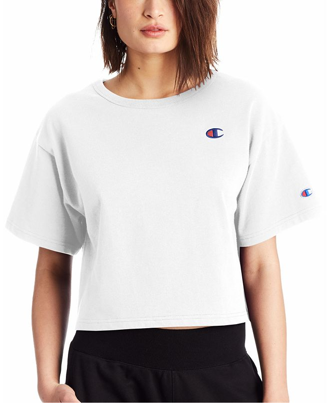 Champion Women's Heritage Cropped T-Shirt