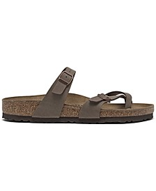 Women's Mayari Birko-Flor Nubuck Sandals from Finish Line