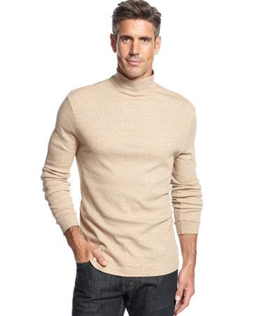 John ashford big and tall solid long sleeve mock neck for Big and tall mock turtleneck shirt