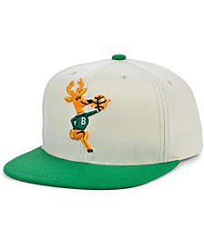 Milwaukee Bucks Natural XL Snapback Cap