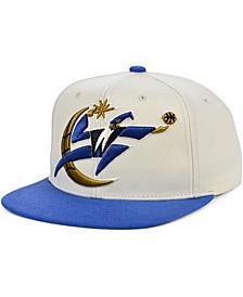 Washington Wizards Natural XL Snapback Cap