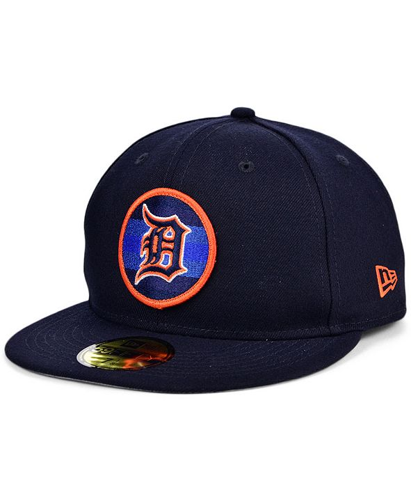 New Era Detroit Tigers Circle Fade 59FIFTY Cap