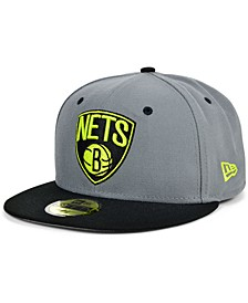 Brooklyn Nets Cyber Storm 59FIFTY-FITTED Cap