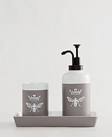 Bee 3-Pc. Bath Accessory Set