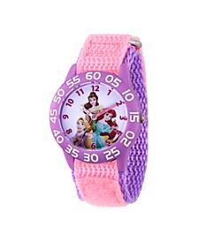Disney Princess Rapunzel Girls' Purple Plastic Watch 32mm