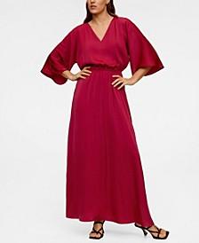 Elastic Waist Long Dress
