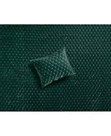 Diamond Tufted Velvet Quilted Standard Sham, Created for Macy's