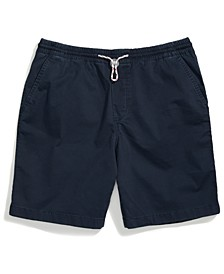 Men's Adaptive Stretch Cotton Short with One Handed Drawstring