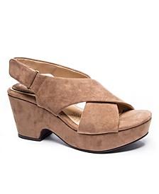 Women's Capital Platform Wedge Sandals