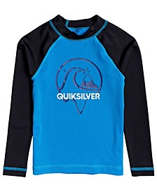 Little Boys Bubble Dreams Long Sleeve Rashguard