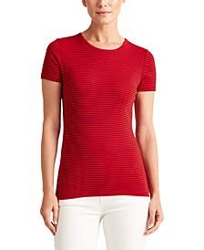 Petite Ribbed T-Shirt
