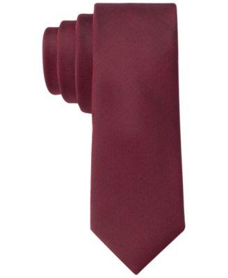 X Liquid Luxe Skinny Solid Tie