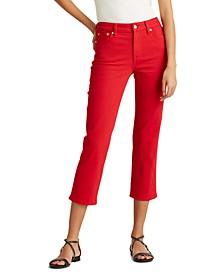 Petite Premier Straight Crop Jeans