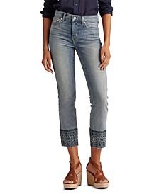 Petite Premier Straight Ankle Jeans