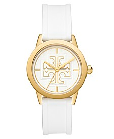 Women's Gigi White Silicone Strap Watch 36mm