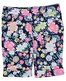 Little Girls Floral Bermuda Short
