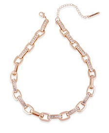 Essential Crystal Link Necklace