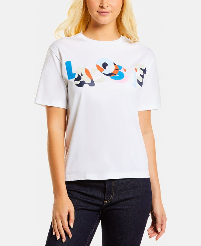 Lacoste Multicolored Logo T-Shirt