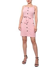 Juniors' Sleeveless Dress