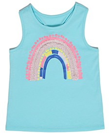 Toddler Girls Rainbow Tank Top