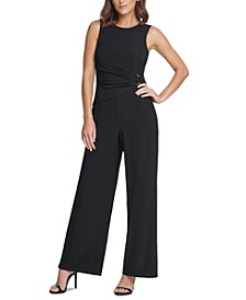 O-Ring Wide-Leg Jumpsuit