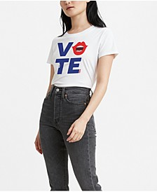 Graphic 2020 Vote Voice Crewneck T-Shirt