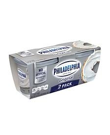 Philadelphia Regular Cream Cheese Spread, 16 oz, 2 Pack