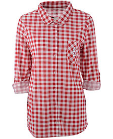 Concepts Sport Women's St. Louis Cardinals Wanderer Plaid Shirt