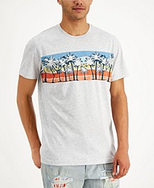 Men's Palm Print T-Shirt, Created for Macy's