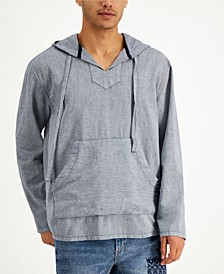 Men's Textured Popover Hoodie, Created for Macy's