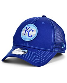 Kansas City Royals Logo Fill Trucker 9FORTY Cap