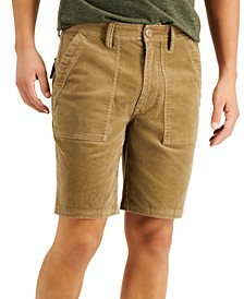 Men's Hawk Cord Shorts, Created for Macy's