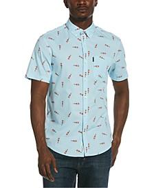 Men's Heritage Slim-Fit Tabasco-Print Shirt
