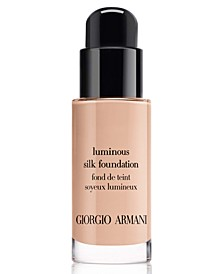 Armani Beaty Luminous Silk Perfect Glow Flawless Oil-Free Foundation,Travel Size