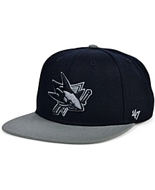 San Jose Sharks No Shot 2-Tone Cap