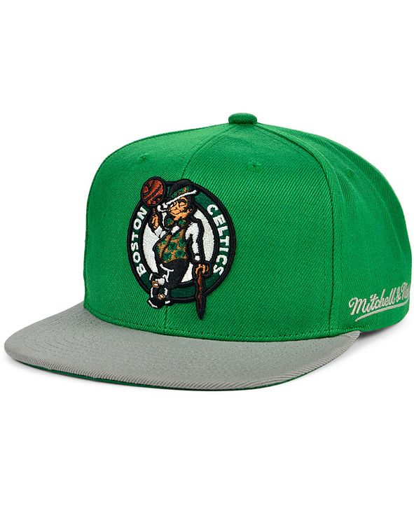 Mitchell & Ness Boston Celtics The Drop Snapback Cap