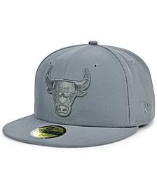 Men's Chicago Bulls All Storm 59FIFTY Cap