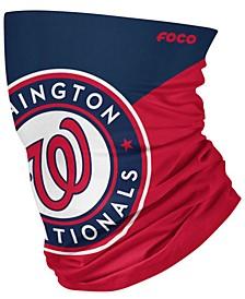 Washington Nationals Colorblock Big Logo Gaiter Face Mask Scarf