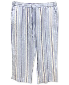 Striped Capri Pants, Created for Macy's