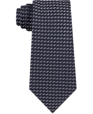Kenneth Cole Reaction Men's Diamond Geometric Skinny Tie