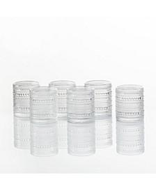 Jupiter Double Old Fashioned Glasses, Set of 6