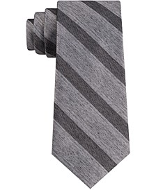 Men's Tri Contrast Stripe Skinny Tie