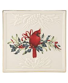 Winter Greetings Trivet