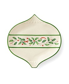 Holiday Ornament Accent Plate