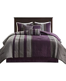 Kennedy 7 Piece King Comforter Set