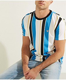 Men's Vertical Striped Tee