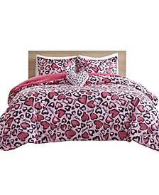 Sasha 4 Piece Full/Queen Comforter Set
