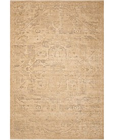 "Silk Elements SKE14 Sand 5'6"" x 8' Area Rug"